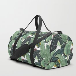 banana leaf pattern Duffle Bag