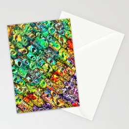 Spectral 3D Abstract Stationery Cards