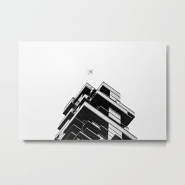 56 Leonard Street skyscraper in Tribeca, New York City Metal Print