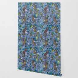 Oh, the Quiet Beauty of the Seahorse Wallpaper