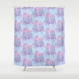 Jellyfish Love Shower Curtain
