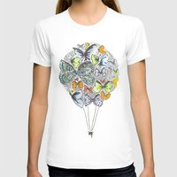 bows T-shirts featuring Bows & Butterflies by Romina M.