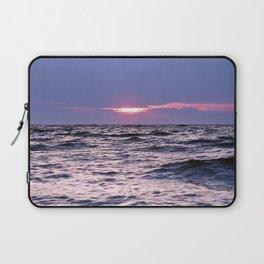 Water level Sunset Laptop Sleeve