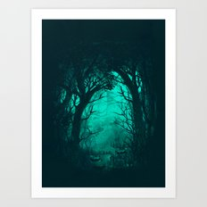 The Hiding Place Art Print