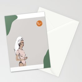 Tanned in Italy Stationery Cards
