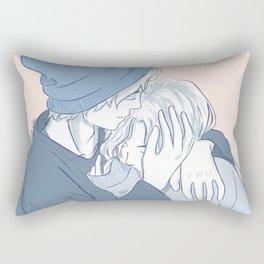 Willabeth New Year's Kisses Rectangular Pillow