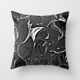 ALL THAT JAZZ- ABSTRACT  Throw Pillow