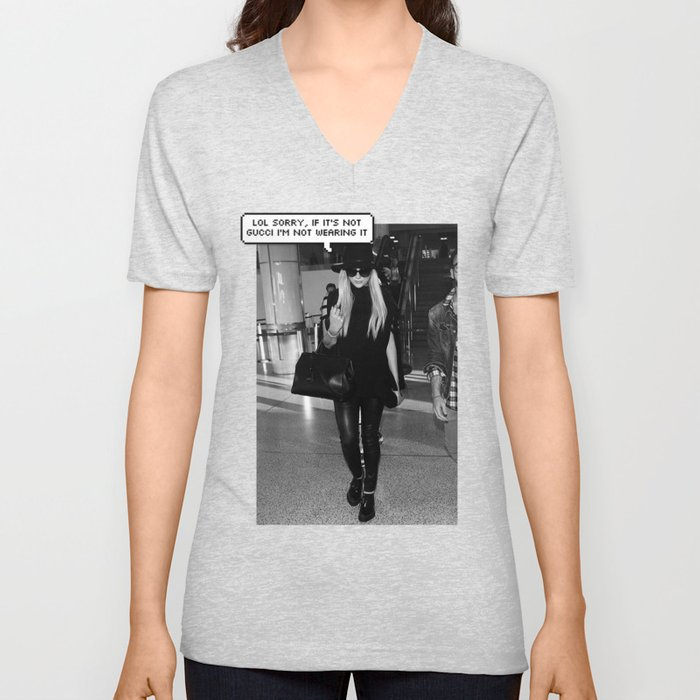 beb09cbef GUCCI Unisex V-Neck by freexkesha | Society6