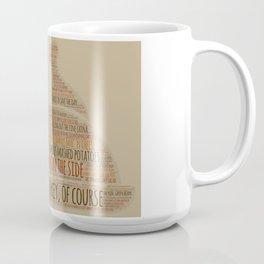 Thanksgiving Is ... Coffee Mug