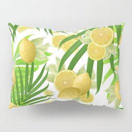 Summer Lemon Twist Jungle #2 #tropical #decor #art #society6 Pillow Sham
