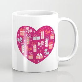 Valentines Day Heart #9 - Package w/ Bow Coffee Mug