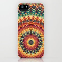 Mandala 254 iPhone Case