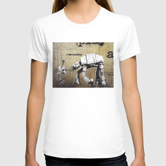 Banksy, I am your father T-shirt