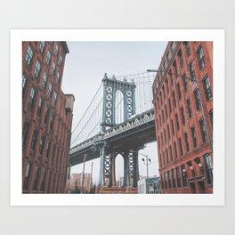 Dumbo Brooklyn New York City Art Print