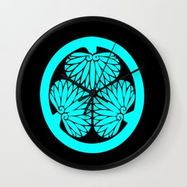 Lone Wolf and Cub Crest Wall Clock