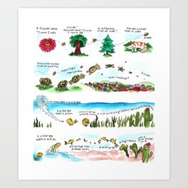 Tree Hugger Kimya Dawson Art Print