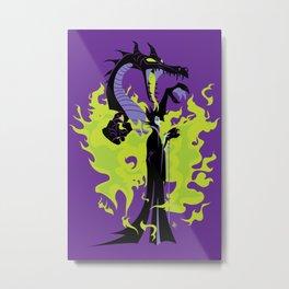 Maleficent Mistress of All Evil Metal Print