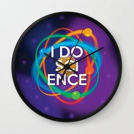 I DO SCIENCE Wall Clock