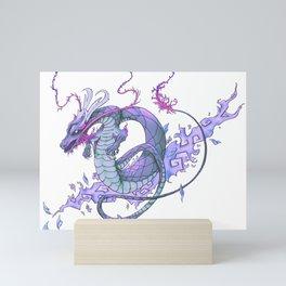 Dragon Tattoo Art, Pastel Mini Art Print