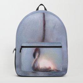 Watercolor Flamingo Backpack