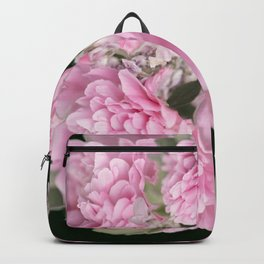 Pink Bouquet On A Black Background  #society6 #buyart Backpack