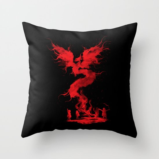 Let's the magic begin... Throw Pillow
