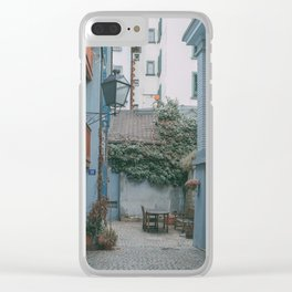 Zurich Alley II Clear iPhone Case