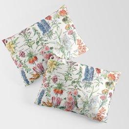 Adolphe Millot - Fleurs pour tous - French vintage poster Pillow Sham