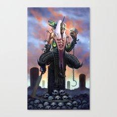 Harvester of Skulls Canvas Print