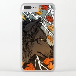 The last breath of summer Clear iPhone Case