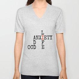 ADD/OCD/Anxiety Unisex V-Neck