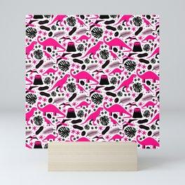 Dino-roar! Mini Art Print
