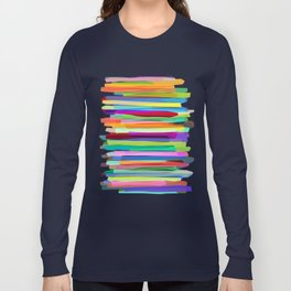 Colorful Stripes 1 Long Sleeve T-shirt