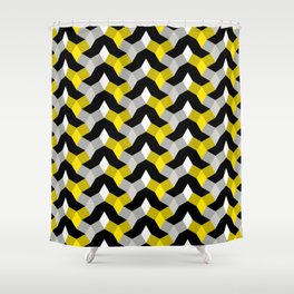 Diamonds in the Rough - Design 4 Shower Curtain