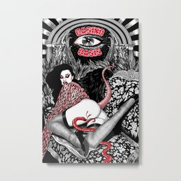 Casino Oasis Metal Print