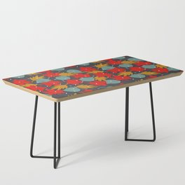 Falling red leaves Coffee Table