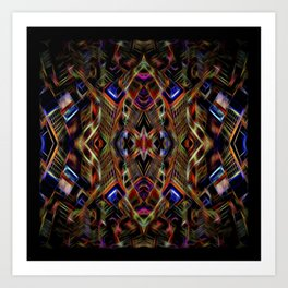 Journey To The Centre Of A Brain Fart Art Print