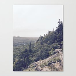 Midday Mountainside Canvas Print