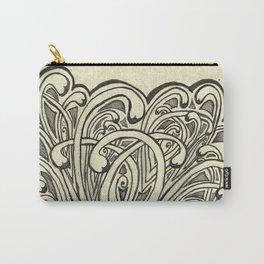 Elegant Graffiti Carry-All Pouch