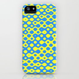 Brain Coral Blue Small Polyps - Coral Reef Series 026 iPhone Case