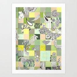 Botanist Boundaries no.2 Art Print