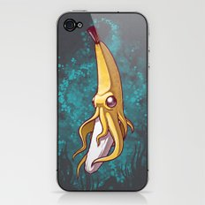 Banana Squid!!! iPhone & iPod Skin