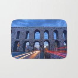 Racing The Aqueduct Bath Mat