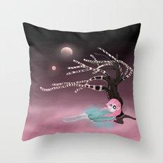 at dream's door Throw Pillow