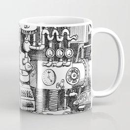 DINNER TIME FOR THE ROBOT Coffee Mug