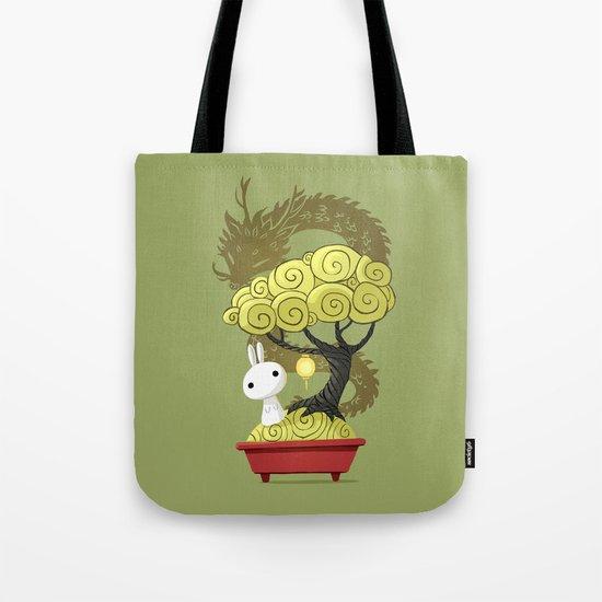 Bonsai Bunny Tote Bag