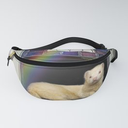 Under the Rainbow Ferret Fanny Pack