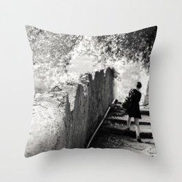 Passeggiata Pomeridiana Throw Pillow