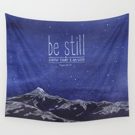 Be Still & Know That I am God Wall Tapestry
