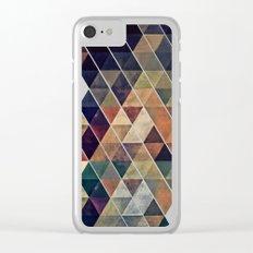 fyssyt pyllyr Clear iPhone Case